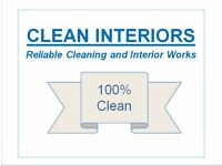 Cleaning: House, Domestic, Move in, End of tenancy, Deep clean. Reliable cleaning & interior works