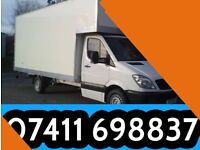 Man and a van service from £15 tel: 07411698837
