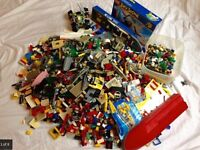 9kg Collection of Lego - Vintage, Star Wars, Power Miners, City etc including Mini figures
