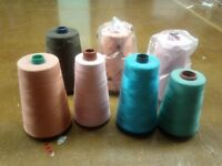 Sewing Thread - Cotton, Nylon, Polyester, Spools