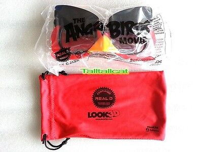 The Angry Birds Movie 3D Glasses Real D
