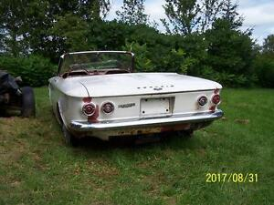 Parting out 1964 Corvair convertible