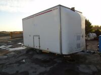 large decontamination trailer