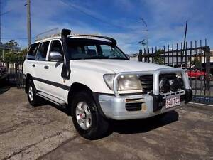 2003 Toyota LandCruiser GXL 4.2 TD HDJ100R Low KM only $32,999 Highgate Hill Brisbane South West Preview
