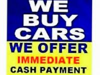 WE WILL BUY ANY CAR ,BIKE ,QUAD OR VAN MOT FAILURES,SCRAP ,UNWANTED ,FOR SALE