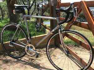 Dura ace 10spd Road bike - Steel frame made by Europa ML size Bowral Bowral Area Preview