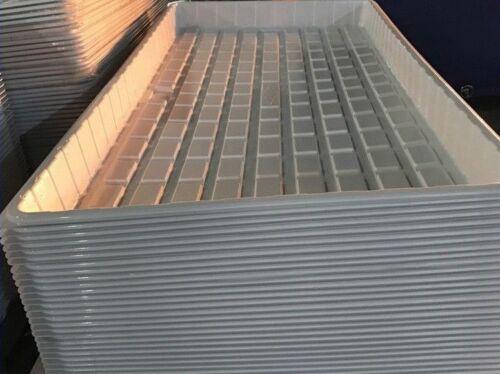 "Flood table hydroponics aquaponics grow tray 48""x96""x6"" 4mm ~ local pickup"