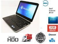 "Cheap Dell Laptop E5420 Intel Celeron B710 2GB RAM 250GB HDD14"" Window 7 Professional WiFi"