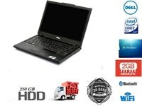 Cheap Fast Dell Laptop E4300 Intel Core2Duo 2GB RAM 250GB HDD WiFi Ready Windows 7 Professional