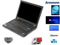Cheap Best Deal Laptop Lenovo X201 Intel Core i5 @ 2.4Ghz 4GB RAM 320GB HDD Win 10 Pro