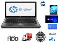 Cheap HP Elitebook 8740W Mobile Workstation Laptop Core i5 @ 2.67Ghz 4GB 320GB WIN 10 Professional