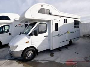 Mercedes Sprinter Motorhome with shower toilet & sleeps 4 Wodonga Wodonga Area Preview