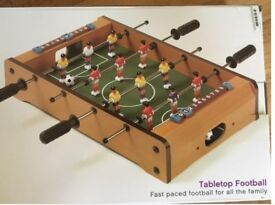 Table top football game, foosball miniature - brand new toy, perfect gift!