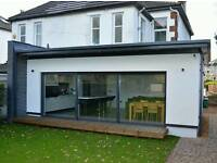 EXTENSION, LOFT CONVERSION, ROOFING, BATHROOMS, KITCHEN, INTERNAL BUILDING