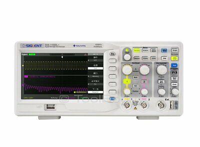 Siglent Sds1102dl 2-channel Digital Oscilloscope 100 Mhz 500 Msas 32 K