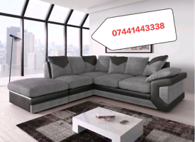 Dino Corner Black & Grey Sofa Sale