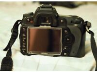 Nikon D90 body with accessories