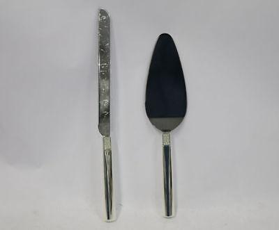 Waterford Lismore Diamond 2-Piece Cake Knife & Server Set
