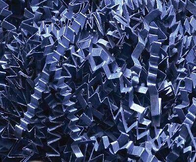 (U Choose Size! NAVY BLUE Gift Basket Shred Crinkle Paper Grass Filler Bedding)