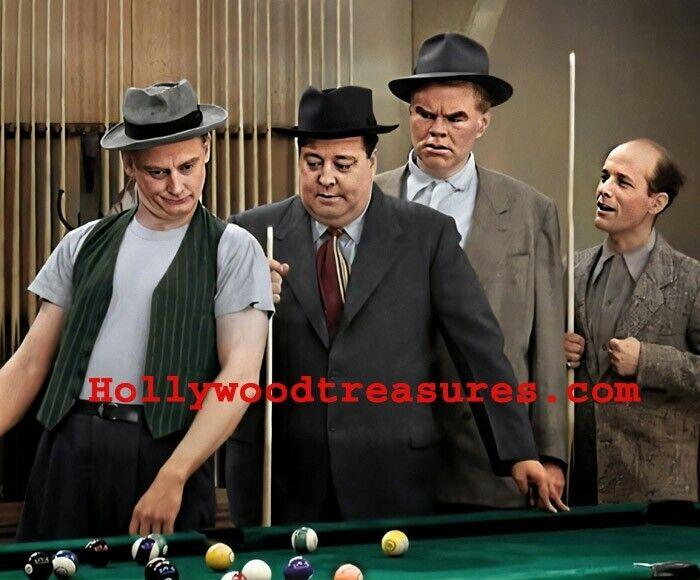 "Jackie Gleason~Honeymooners~Billiards~Harvey~Playing Pool~Photo~ Poster 16""x 20"""