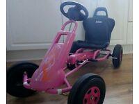 Girls Go Kart