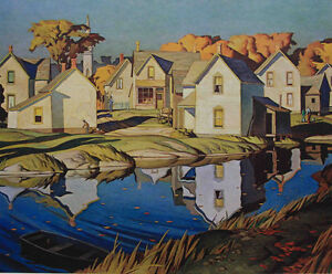 """A.J. Casson Limited Edition """"The White Village"""""""
