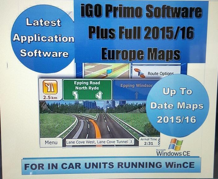 Igo Primo 2 4 Windows Ce Applications - chicagofreedomjk