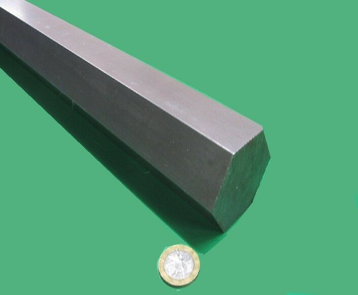 1018 Carbon Steel Hex Rod 50 mm Hex  x 3 Foot Length