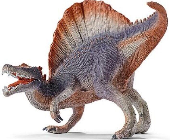 Schleich 14542 Spinosaurus Violet Toy Dinosaur Hand Painted Figurine - BRAND NEW