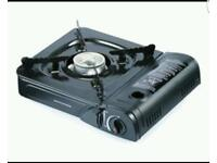 Gas stove ideal for camping Inc 4 gas canisters