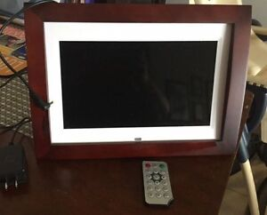 "Sylvania 10"" digital picture frame- NEVER USED"
