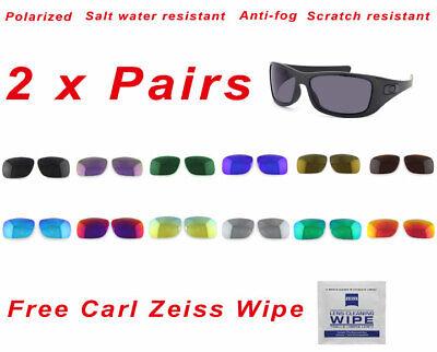 2 x Polarized Replacement Lenses For-Oakley Hijinx Sunglasses 4K Premium HD (Hijinx Oakley Sunglasses)