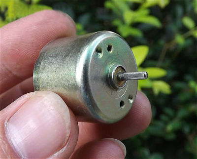 2x New Miniature Motor 310 Round Motor Dc5v-9v 5100-9200 Rpm Dc Motor Diy