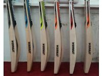 CRICKET BAT ALL BRANDS AVAILABLE. ENGLISH WILLOW AND KASHMIR WILLOW.