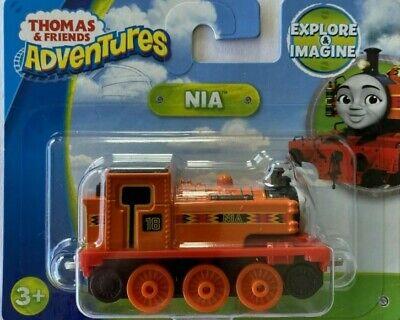 Thomas & Friends Adventures~NIA~Metal Train Engine Fisher Price FJP41~New in Box