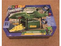 Thunderbirds Are Go – Supersize Thunderbird 2 Vehicle and Thunderbird 4 BNIB