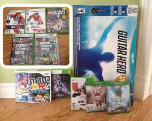 Wii U Guitar Hero neuf + jeux Wii, Xbox One, Star Wars