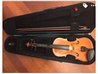 1/2 size fiddle stentor excellent condition