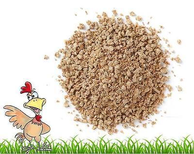 1kg Chick Crumb High Protein Chick Starter Crumb Quail Anti Cocci Hatching Eggs