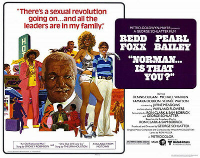 Norman...Is That You? 1976 16mm Color Red Foxx Pearl Bailey Comedy Feature