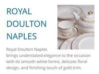 Royal doulton dinner service naples