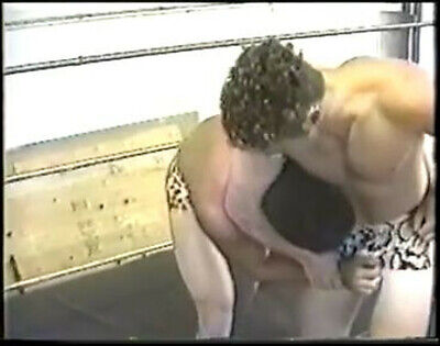 wrestling video dvd submission pro style rare matches JPWA mat men gear speedos