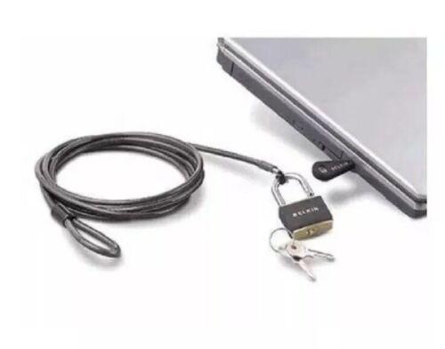 NEW Belkin Notebook Laptop Security Lock F8E550 Lifetime War