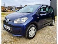 2014, VW MOVE UP,PETROL,BLUE, LOW TAX, ECONOMICAL,3 DOOR HATCHBACK, WARRANTY