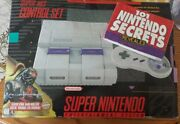 Super Nintendo System with Games