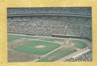 NY Flushing Queens 1960s postcard SHEA STADIUM New York METS BASEBALL  for sale  Shipping to Canada