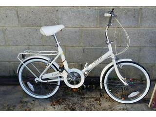 Raleigh compact folding bike bicycle