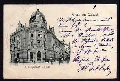 90324 AK Ljubljana Laibach Slowenien K. K. Hauptpost 1898