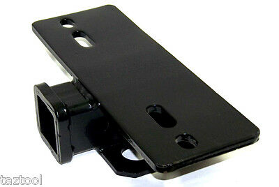 "Step Hitch Bumper Mount 2"" Receiver 5000 lb Load Capacity Trailer Truck RV"