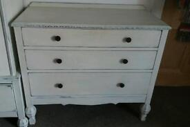 Upcycled painted chests of drawers